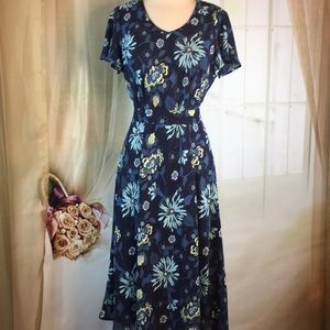 Croft & Barrow Floral Short Sleeved Dress